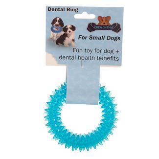 Pet Dental Ring, Small, Blue