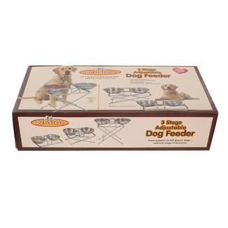 3-Stage Adjustable Dog Feeder