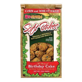 Soft Bakes Dog Treats, 12 oz. Bag, Birthday Cake