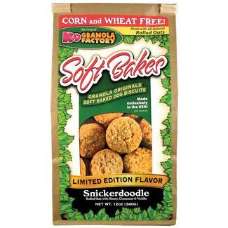 Soft Bakes Dog Treats, 12 oz. Bag, Snickerdoodle