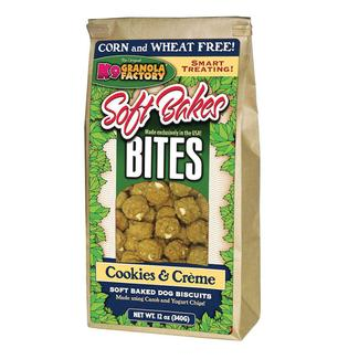 Soft Bakes Cookies & Creme Bites Mini Dog Treats, 12 oz. Bag