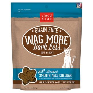 Wag More Soft Chewy Aged Cheddar Treats, 5 oz.