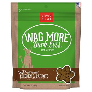 Wag More Soft Chewy Chicken & Carrot Treats, 6 oz.