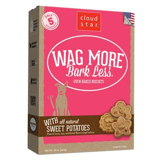 Wag More Sweet Potato Oven Baked Biscuits, 16 oz.