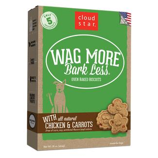 Wag More Chicken & Carrots Oven Baked Biscuits, 16 oz.