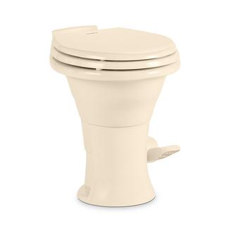 Dometic 310 Series High Profile Gravity Discharge Toilet, Bone, 18