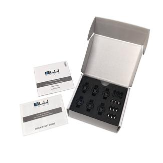 BLU Tire Pressure & Temperature Monitoring System, External TPMS, Set of 6
