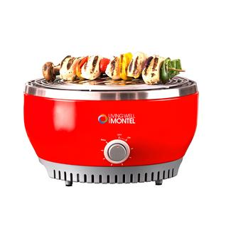 Living Well with Montel Portable Outdoor Grill