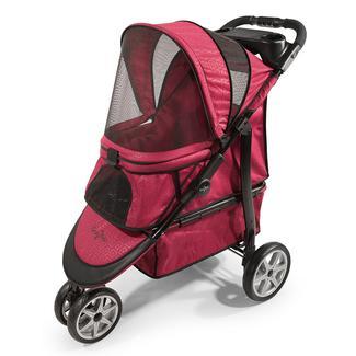 Monaco Pet Stroller, Red