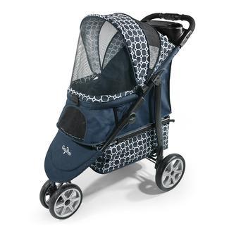 Monaco Pet Stroller, Blue