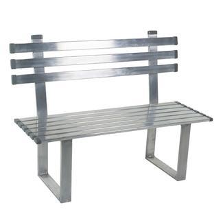 Aluminum Bench, 6'