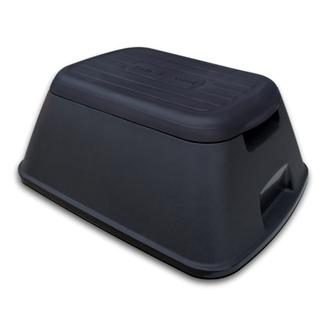 Safe-T-Stool Anti Tip Step Stool, Black