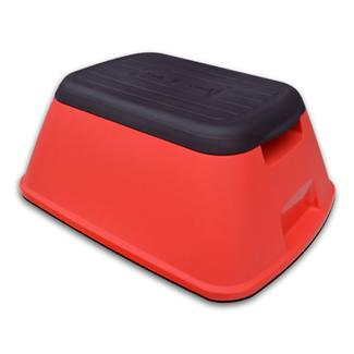 Safe-T-Stool Anti Tip Step Stool, Red