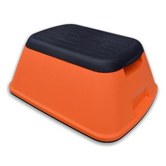 Safe-T-Stool Anti Tip Step Stool, Orange