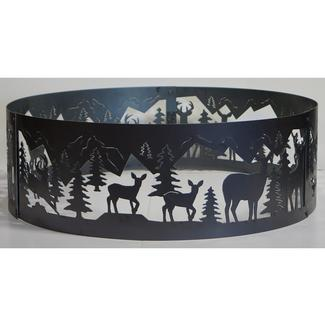 Whitetail Fire Ring, 38&quot&#x3b;