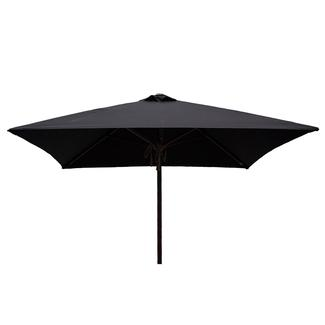 Classic Wood Square Patio Umbrella - Black 6.5u0027  sc 1 st  C&ing World & 10x10 Quik Shade Solo LT 72 Instant Canopy - Blue/Gold - Bravo ...