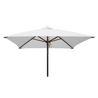 Classic Wood Square Patio Umbrella - Natural, 6.5'