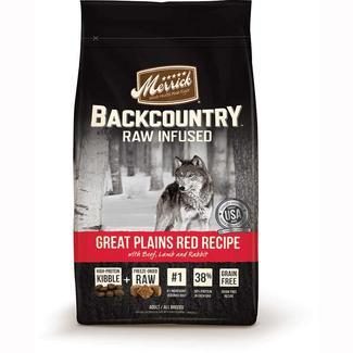 Merrick Backcountry Dog Food, Great Plains, 12 lb. Bag
