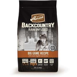 Merrick Backcountry Dog Food, Big Game, 12 lb. Bag