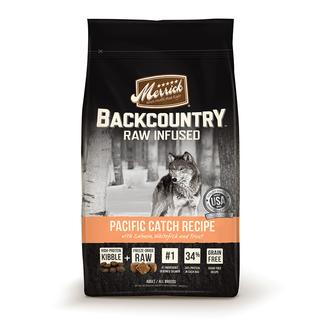 Merrick Backcountry Pet Food, Pacific Catch, 4 lb. Bag