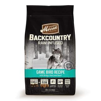 Merrick Backcountry Grain-Free Pet Food, Game Bird, 22 lb. Bag