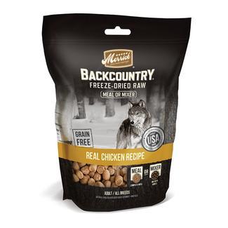 Merrick Backcountry Pet Food, Freeze-Dried Chicken Meal Mixer, 12.5 oz.