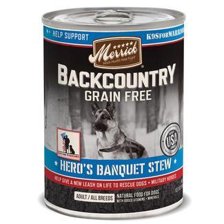 Merrick Backcountry Pet Food - Hero's Banquet
