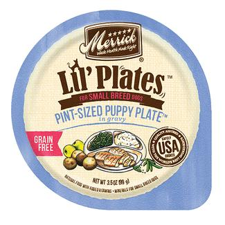 Grain-Free Lil Plates, Pint Size Puppy Plate