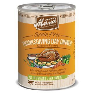 Merrick Classic Pet Food, Thanksgiving Day Dinner