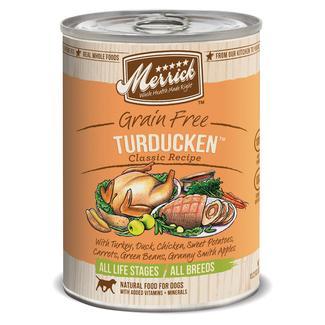 Merrick Grain Free Classic Pet Food Turducken