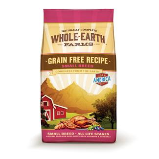 Merrick Whole Earth Farms Grain-Free Pet Food, Small Breed Chicken, 4 lb. Bag