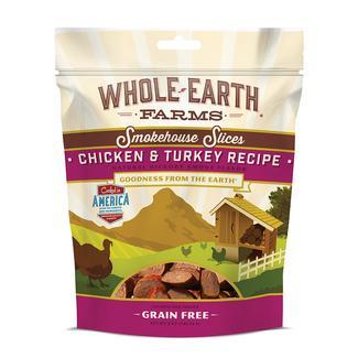 Merrick Whole Earth Farms Grain-Free Pet Food, Chicken & Turkey Slices