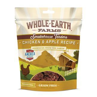 Merrick Whole Earth Farms Grain-Free Pet Food, Chicken & Apple Tenders