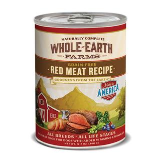 Merrick Whole Earth Farms Grain-Free Pet Food, Red Meat