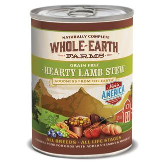 Merrick Whole Earth Farms Grain-Free Pet Food, Hearty Lamb Stew
