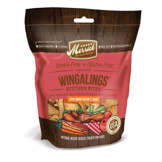 Merrick Kitchen Bites Dog Biscuits, Wingaling, 9 oz.