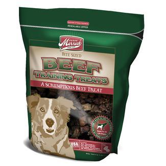Merrick Dog Training Treats, Beef Lung, 5 oz.