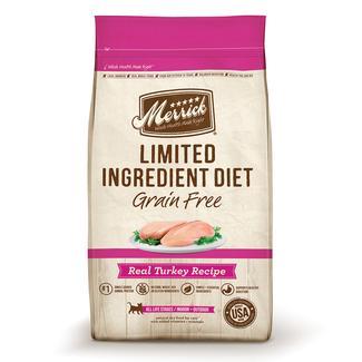 Merrick Grain-Free Limited Ingredient Diet Dog Food, Turkey, 4 lbs.