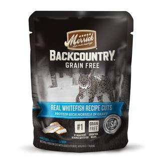 Merrick Real Recipe Cuts, Whitefish, 3 oz.