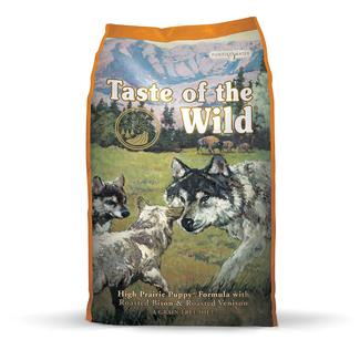 Taste of the Wild High Prairie Puppy Formula with Roasted Bison & Roasted Venison, 30 lb. Bag