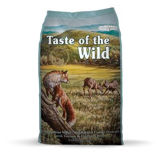 Taste of the Wild Appalachian Valley Small Breed Venison & Garbanzo Beans Dry Dog Food, 5 lb. Bag