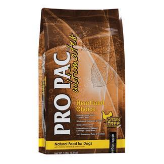 PRO PAC Ultimates Heartland Choice Natural Grain and Gluten Free Formula Dog Food, 5 lb. Bag
