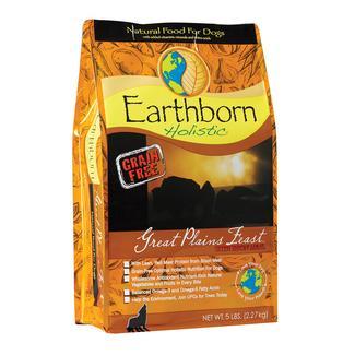 Earthborn Holistic Great Plains Feast Grain-Free Dry Dog Food, 5 lb. Bag