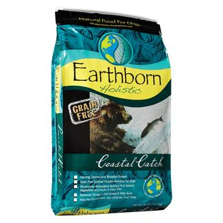 Earthborn Holistic Grain Free Coastal Catch Dog Food, 28 lb. Bag