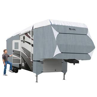 Classic Accessories PolyPRO 3 Deluxe 5th Wheel Cover, 33'-37'