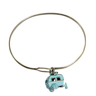 Travel Theme Bracelets, Camper, Turquoise