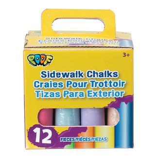 Sidewalk Chalk, 12 Piece Set