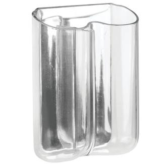 AFFIXX Clear Dual Toothbrush Holder
