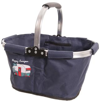 Happy Camper Tri-fold Travel Basket