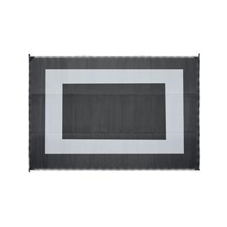 LED Illuminated Patio Mat, 9&#x27&#x3b; x 12&#x27&#x3b;, Black